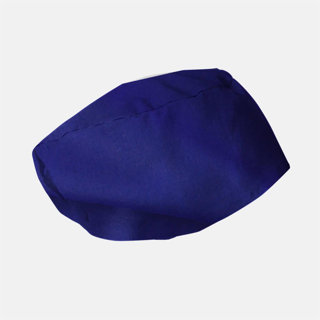 Máscaras comunitárias . toucas cirurgicas lisa elastico azul eléctrico 1