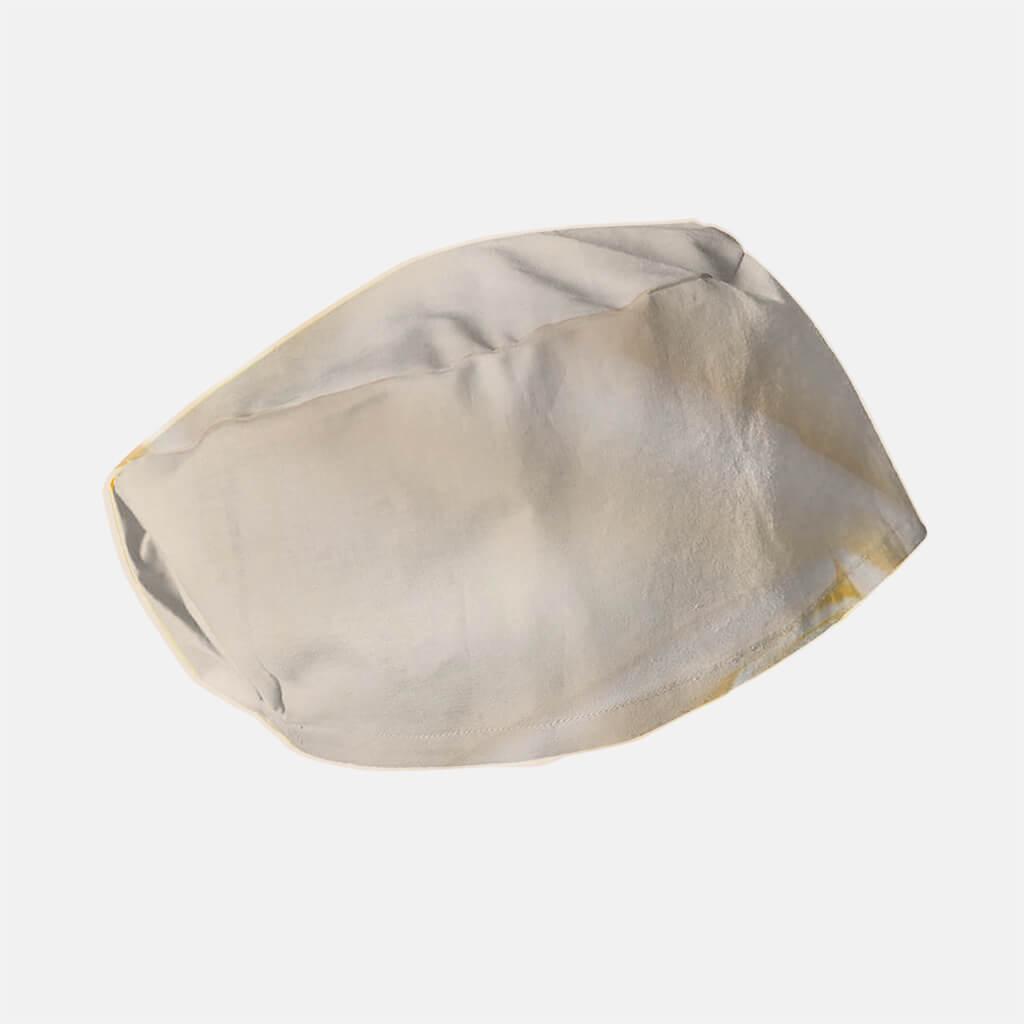 Máscaras comunitárias . toucas cirurgicas lisa elastico beje camélia 1